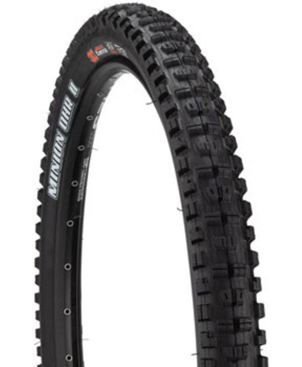 Minion DHR II Tire - 29 x 2.4, Tubeless, Folding, Black, 3C MaxxGrip, EXO, Wide Trail