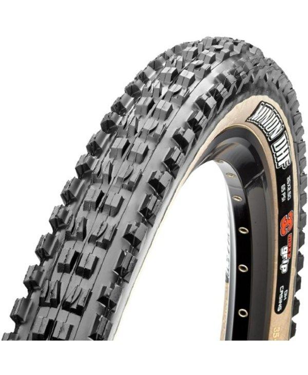 Minion DHF Tire - 27.5 x 2.3, Tubeless, Folding, Black/Tan, 3C Maxx Terra, EXO