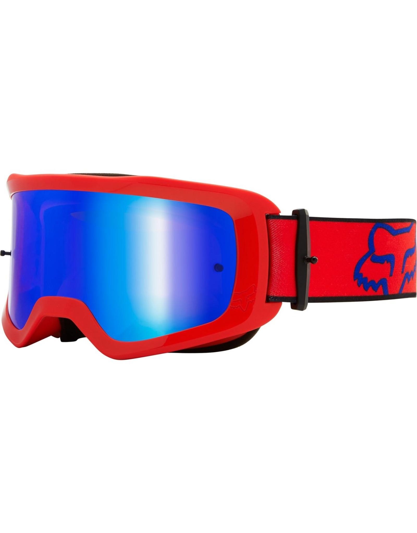 Fox Racing Main Oktiv Goggle Spark Flo Red