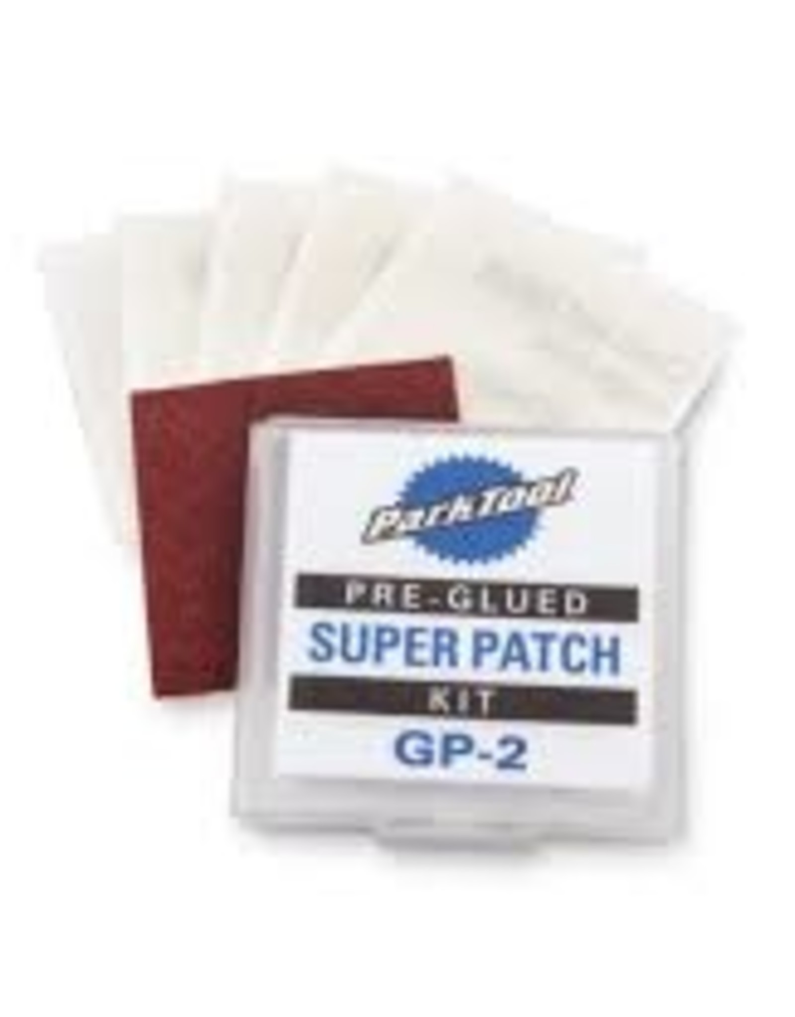 Park Tool Glueless Patch Kit: Carded and Sold as Each