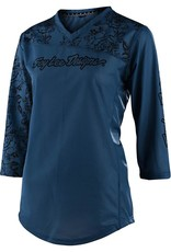 Troy Lee Designs TLD Mischief Jersey:Floral Blue