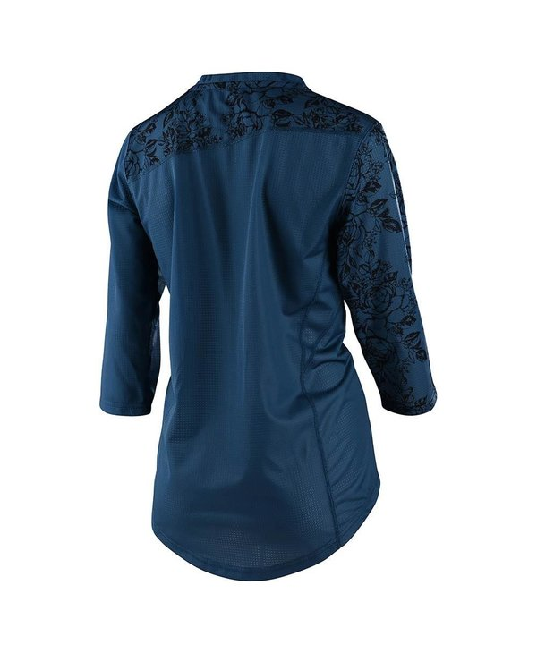 TLD Mischief Jersey:Floral Blue