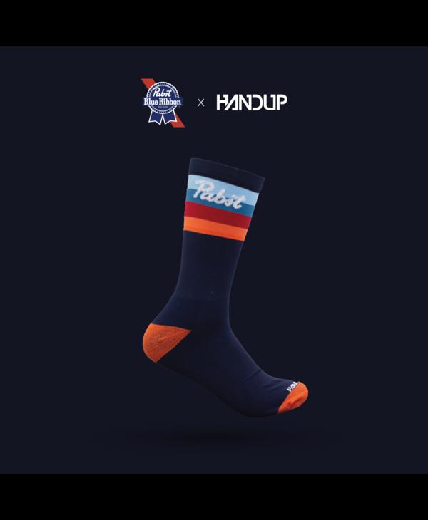 Handup Socks- Pabst Helmet