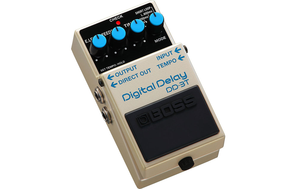 BOSS DD-3T Digital Delay w/tap tempo