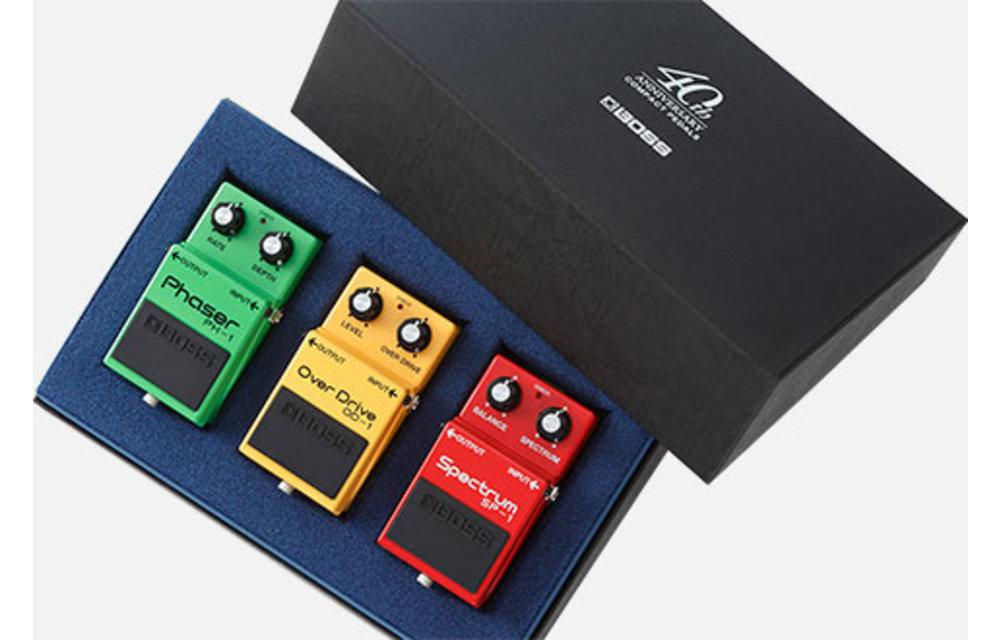 BOSS 40th Anniversary Compact Pedal Trio