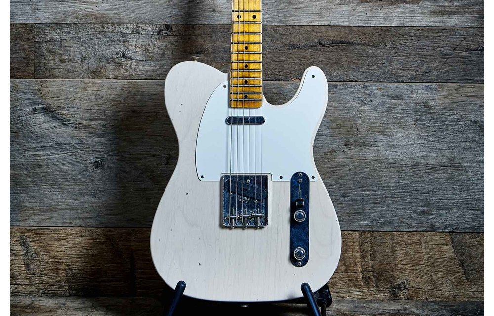 Fender Custom Shop Telecaster, '56 Journeyman Relic, Aged White Blonde
