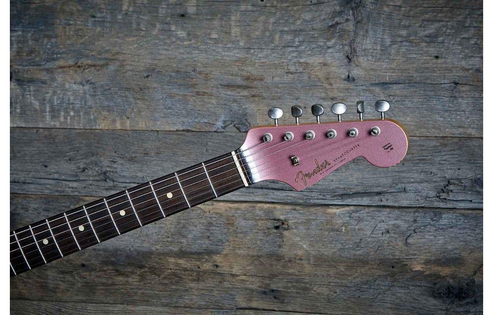 Fender Custom Shop Stratocaster, Char '59 Heavy Relic, Burgundy Mist Metallic w/ Matching Headstock, Masterbuilt Paul Waller