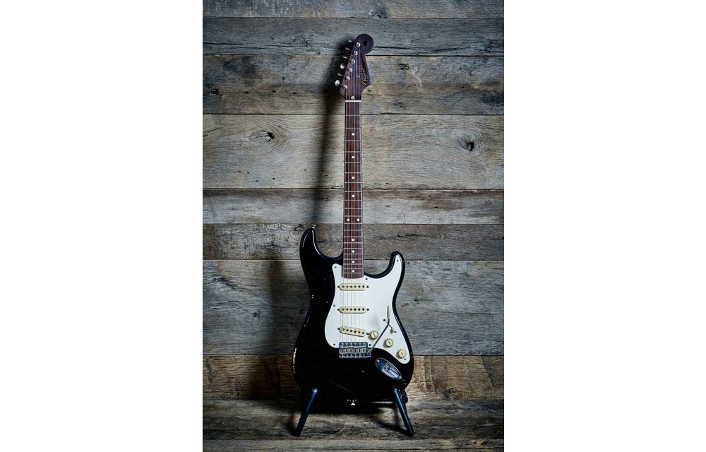Fender Custom Shop Stratocaster, 50s Relic, Rosewood Neck, Masterbuilt Jason Smith