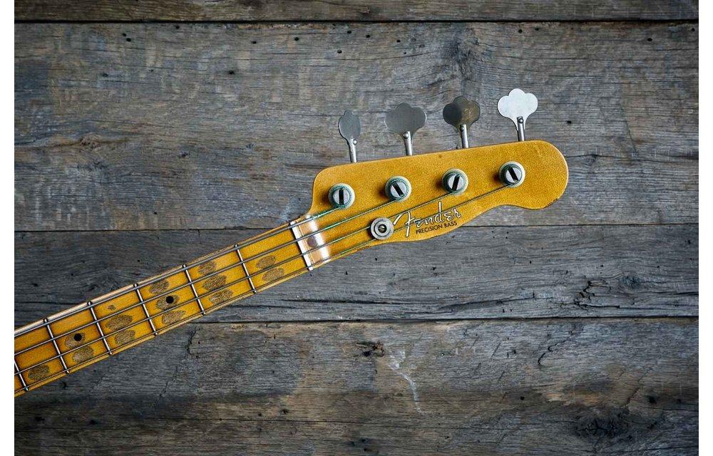 Fender Custom Shop Precision Bass, '51 Relic Vintage Custom, Aged Natural