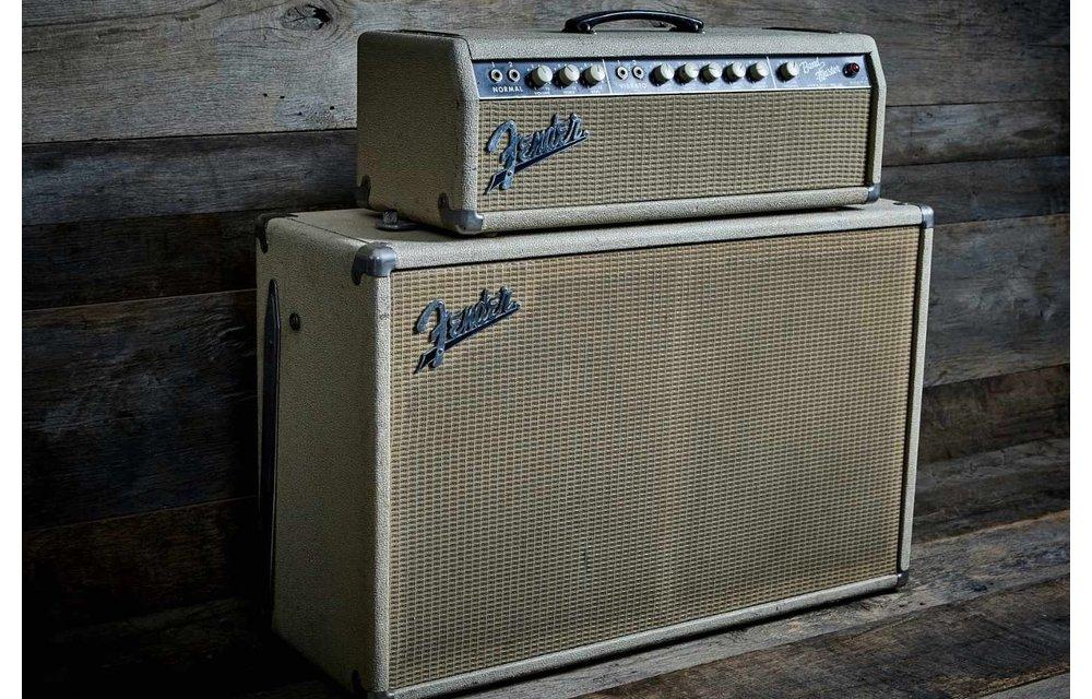 Fender Band Master 1962 Head & Cab 2x12