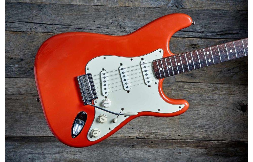 "Fender Stratocaster 1988 American Vintage '62 Fiesta Red ""John Cruz"""
