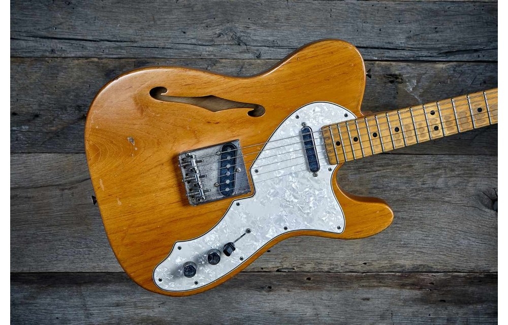 Fender Telecaster Thinline 1968 Natural Ash