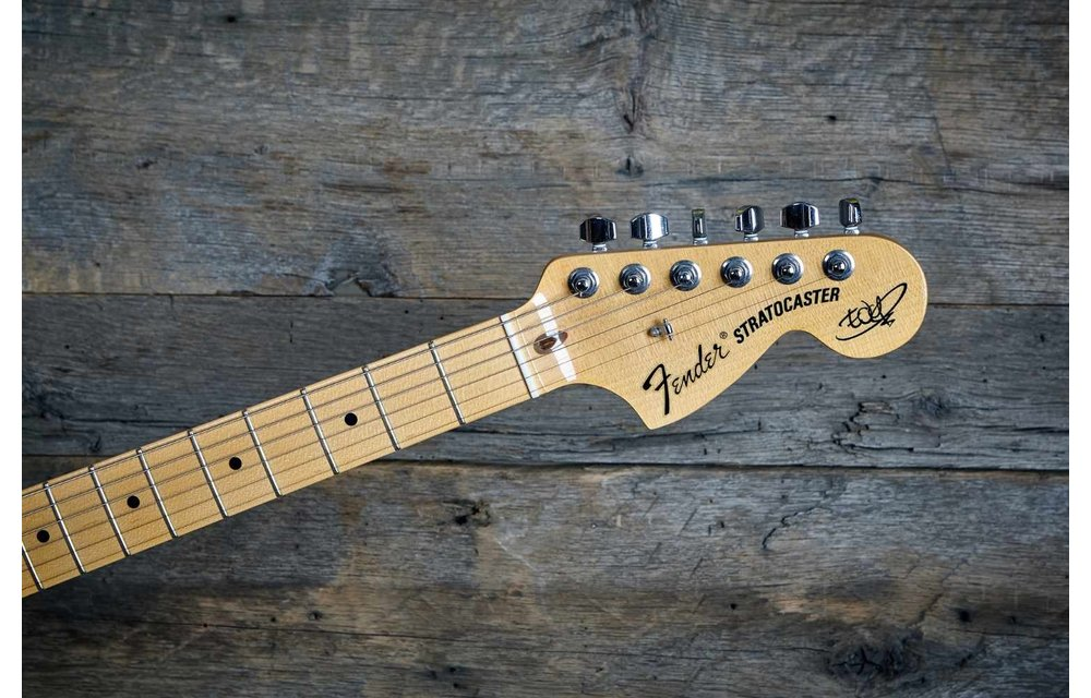 Fender Stratocaster 2017 'The Edge' Signature Edition, Black