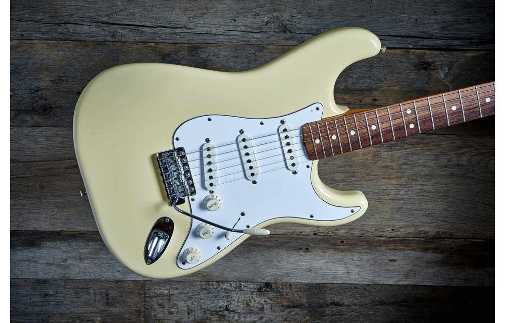 Fender Stratocaster 1985 American Vintage '62 Olympic White