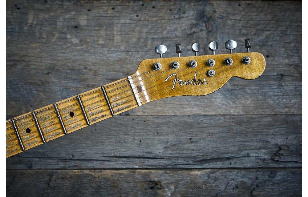 Fender Custom Shop Nocaster, '51 Heavy Relic, Faded Blonde