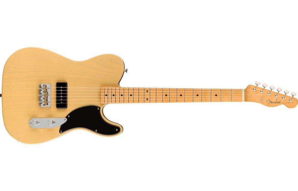 Fender Noventa Telecaster, Maple Fingerboard, Vintage Blonde
