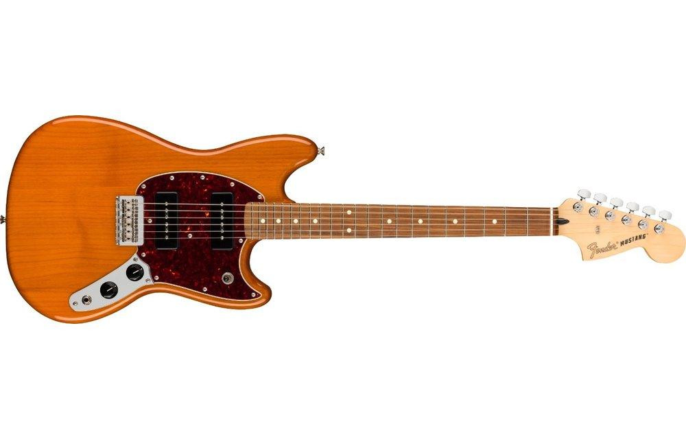 Fender Player Mustang 90, Pau Ferro Fingerboard, Aged Natural