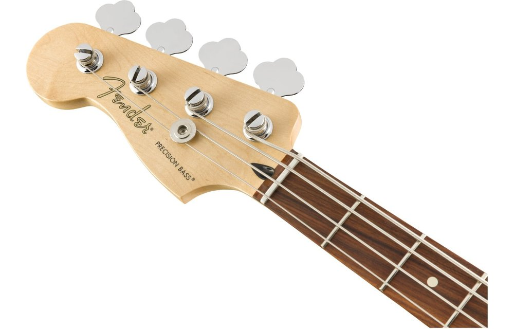 Fender Player Precision Bass Left-Handed, Pau Ferro Fingerboard, Polar White