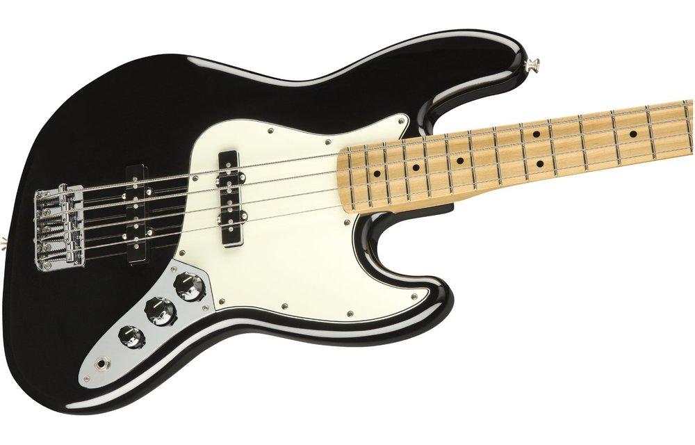 Fender Player Jazz Bass, Maple Fingerboard, Black