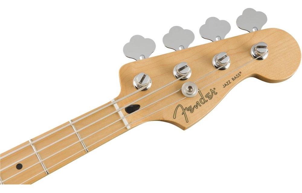 Fender Player Jazz Bass, Maple Fingerboard, Polar White