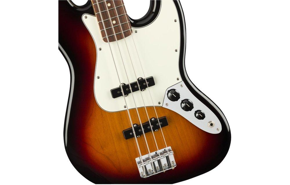 Fender Player Jazz Bass, Pau Ferro Fingerboard, 3-Color Sunburst