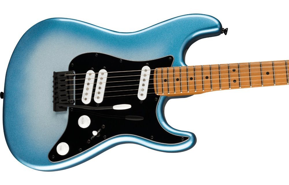 Squier Contemporary Stratocaster Special, Roasted Maple Fingerboard, Black Pickguard, Sky Burst Metallic