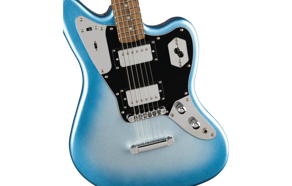 Squier Contemporary Jaguar HH ST, Laurel Fingerboard, Black Pickguard, Sky Burst Metallic