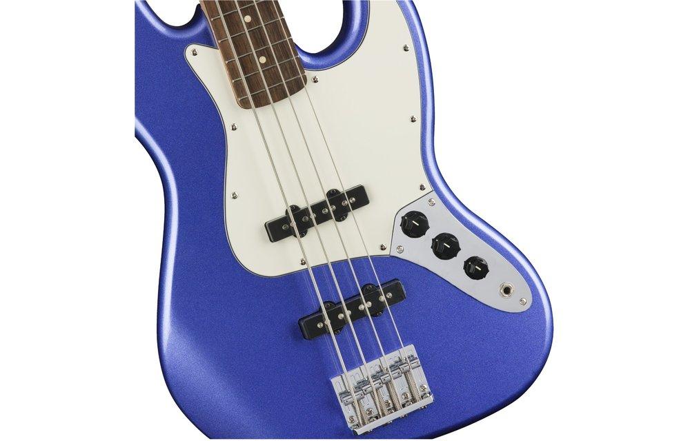 Squier Contemporary Jazz Bass, Laurel Fingerboard, Ocean Blue Metallic
