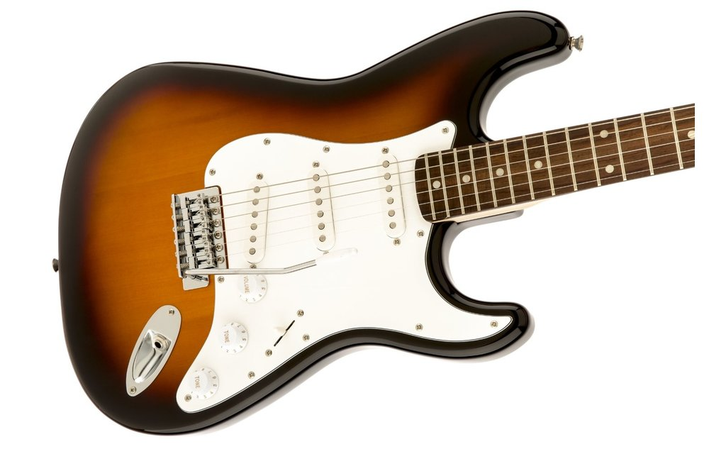 Squier Affinity Series Stratocaster, Laurel Fingerboard, Brown Sunburst