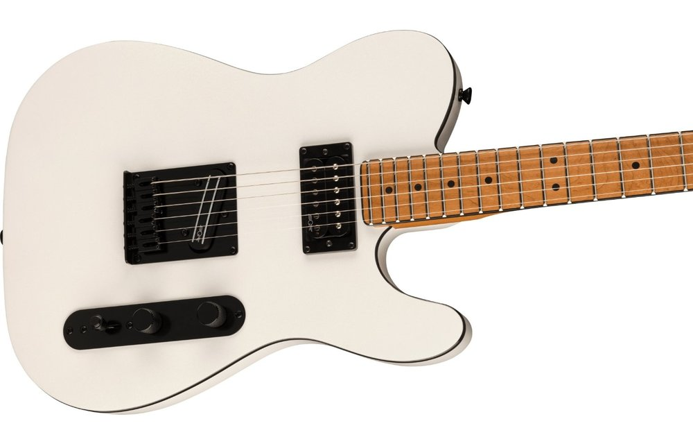 Squier Contemporary Telecaster RH, Roasted Maple Fingerboard, Pearl White