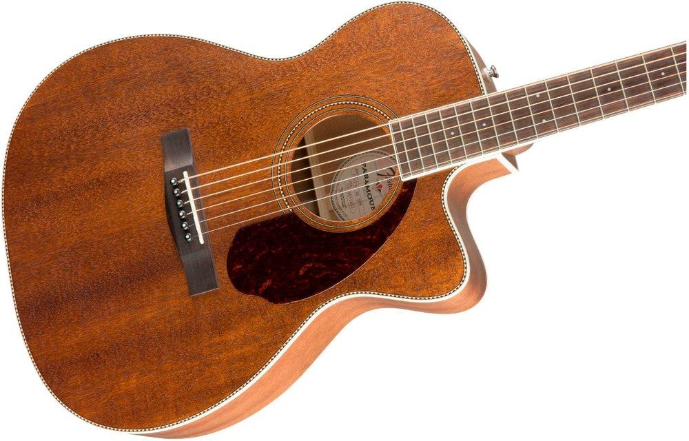 Fender PM-3 Triple-0, Ovangkol Fingerboard, All-Mahogany w/case