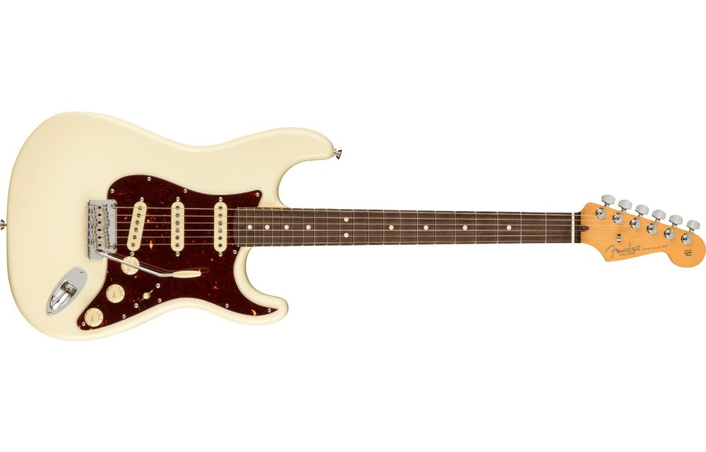 Fender American Professional II Stratocaster, Rosewood Fingerboard, Olympic White