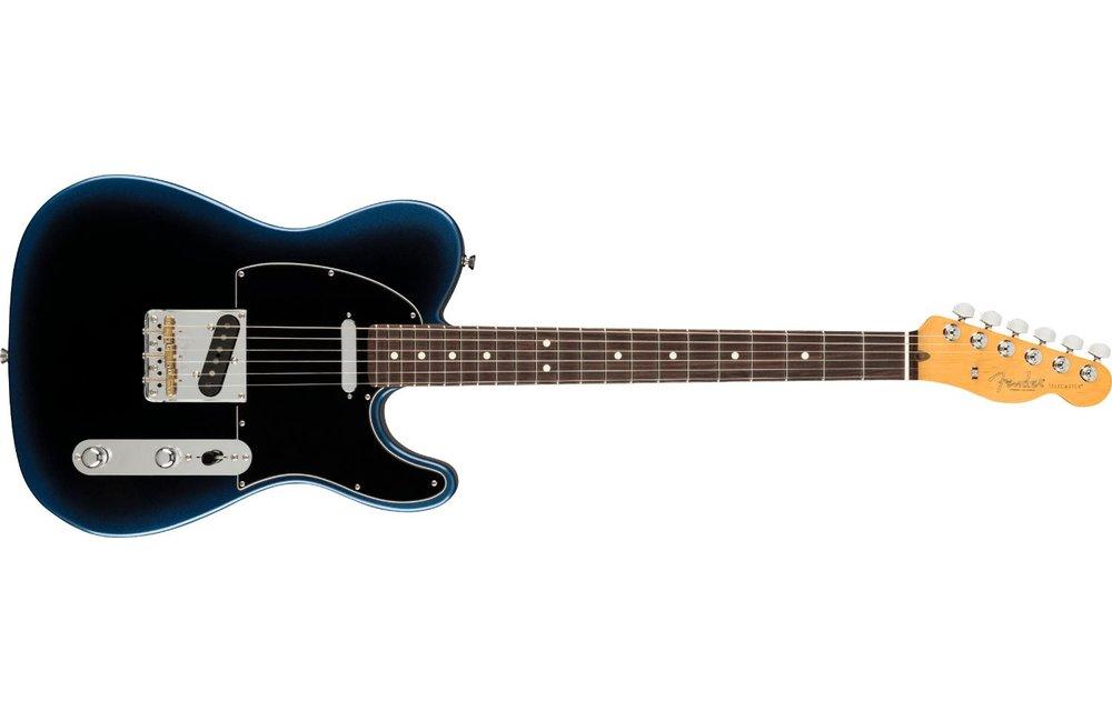 Fender American Professional II Telecaster, Rosewood Fingerboard, Dark Night