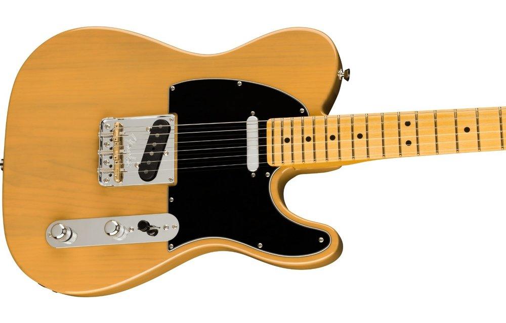 Fender American Professional II Telecaster, Maple Fingerboard, Butterscotch Blonde