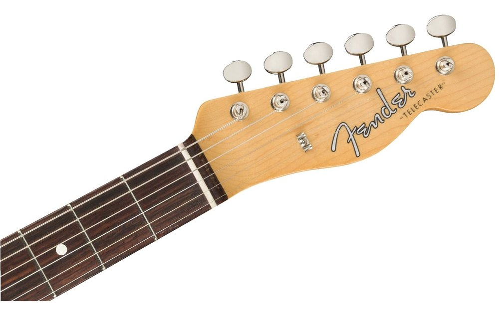 Fender Jimmy Page Mirror Telecaster, Rosewood Fingerboard, White Blonde
