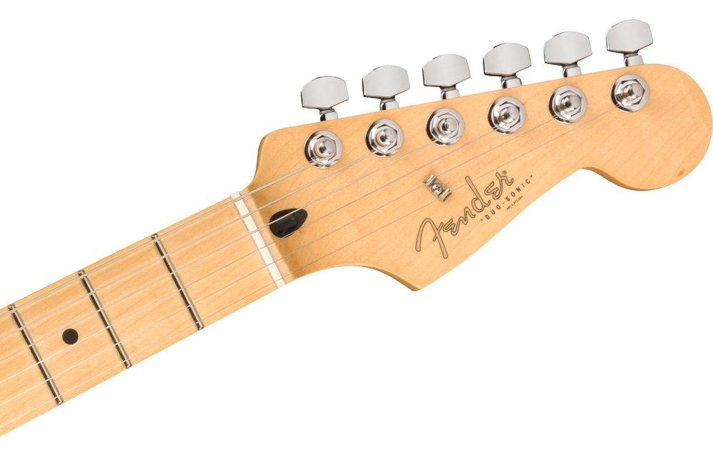 Fender Player Duo-Sonic HS, Maple Fingerboard, Crimson Red Transparent