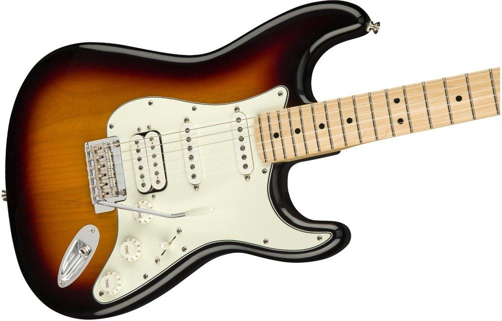 Fender Player Stratocaster HSS, Maple Fingerboard, 3-Color Sunburst