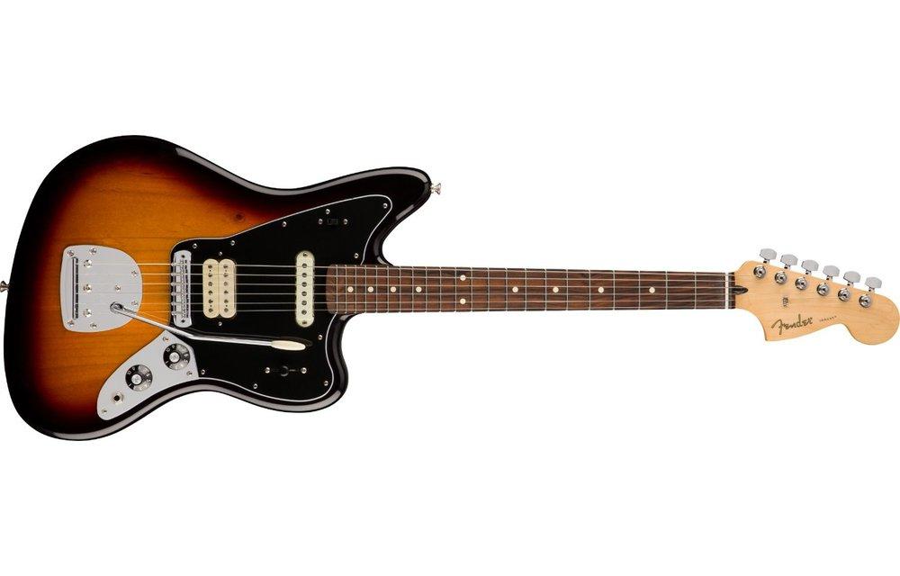 Fender Player Jaguar, Pau Ferro Fingerboard, 3 Color Sunburst