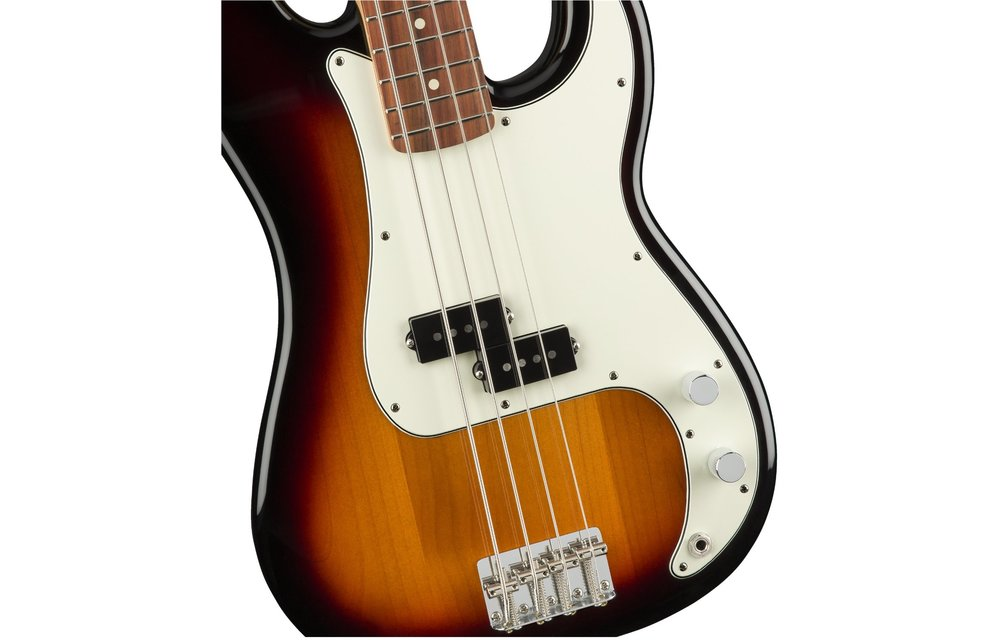 Fender Player Precision Bass, Pau Ferro Fingerboard, 3-Color Sunburst