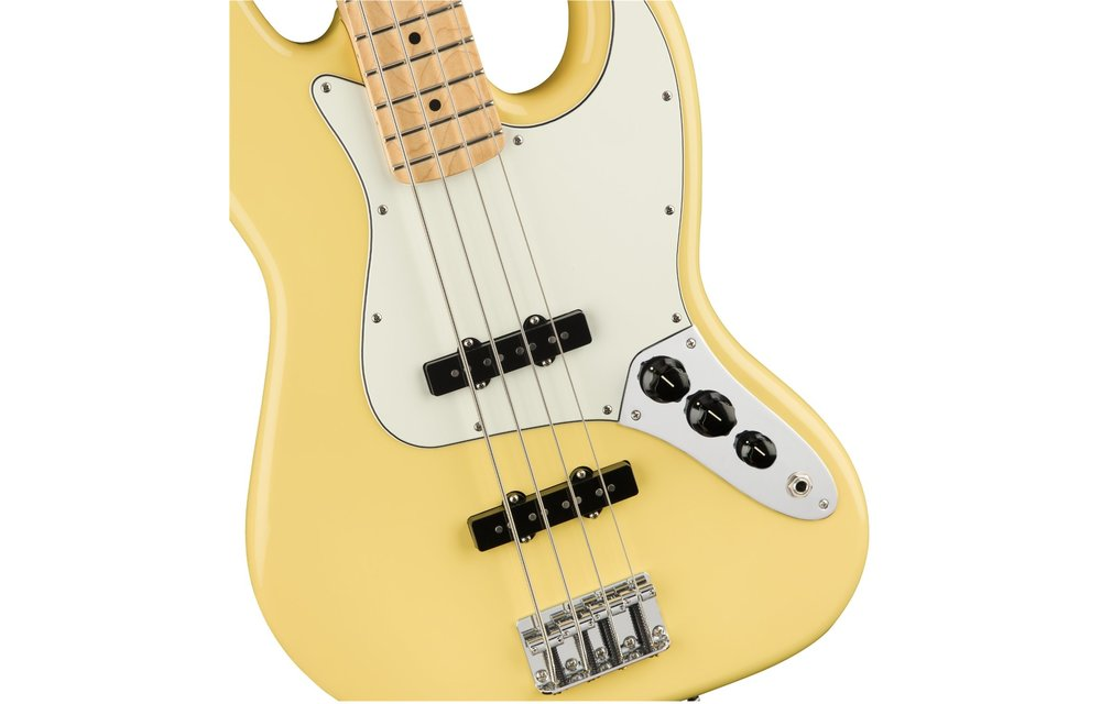 Fender Player Jazz Bass, Maple Fingerboard, Buttercream