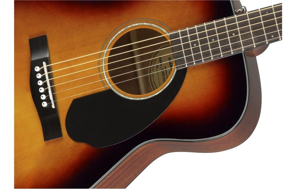 Fender CC-60S Concert, Walnut Fingerboard, 3-Color Sunburst