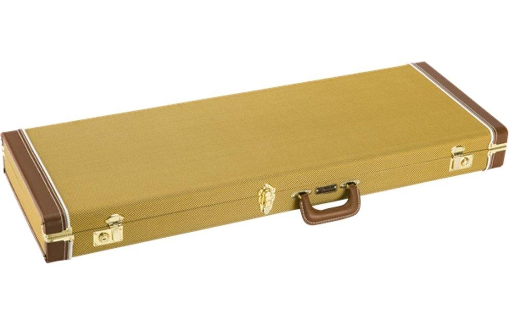 Fender Classic Series Wood Case - Strat/Tele, Tweed