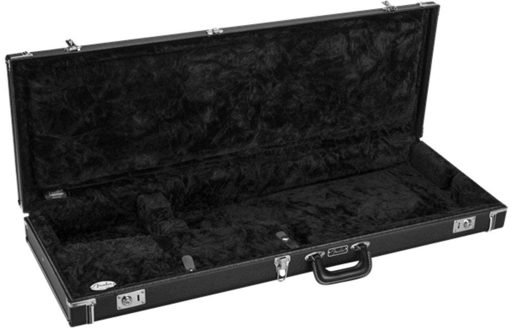 Fender Classic Series Wood Case - Strat/Tele, Black