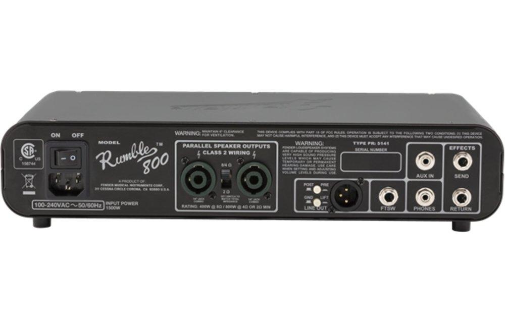 Fender Rumble 800 HD Bass Head