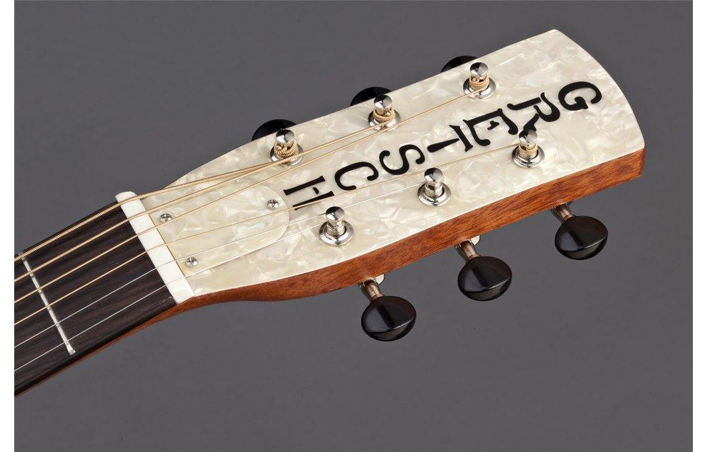 Gretsch G9200 Boxcar Round-Neck, Mahogany Body Resonator Guitar, Natural