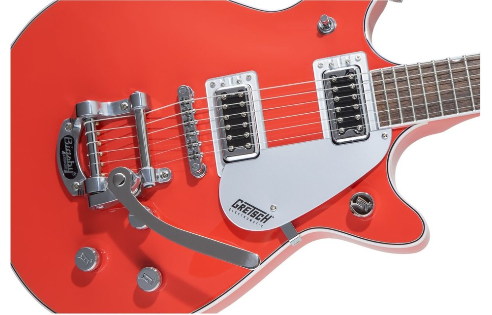 Gretsch G5232T Electromatic Double Jet FT with Bigsby, Laurel Fingerboard, Tahiti Red