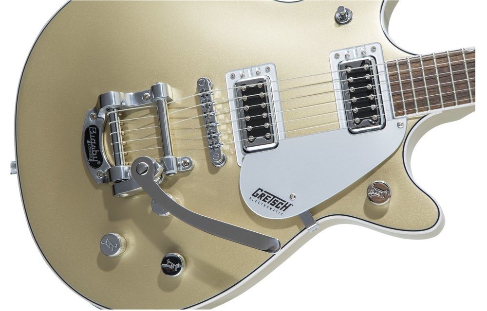 Gretsch G5232T Electromatic Double Jet FT with Bigsby, Laurel Fingerboard, Casino Gold