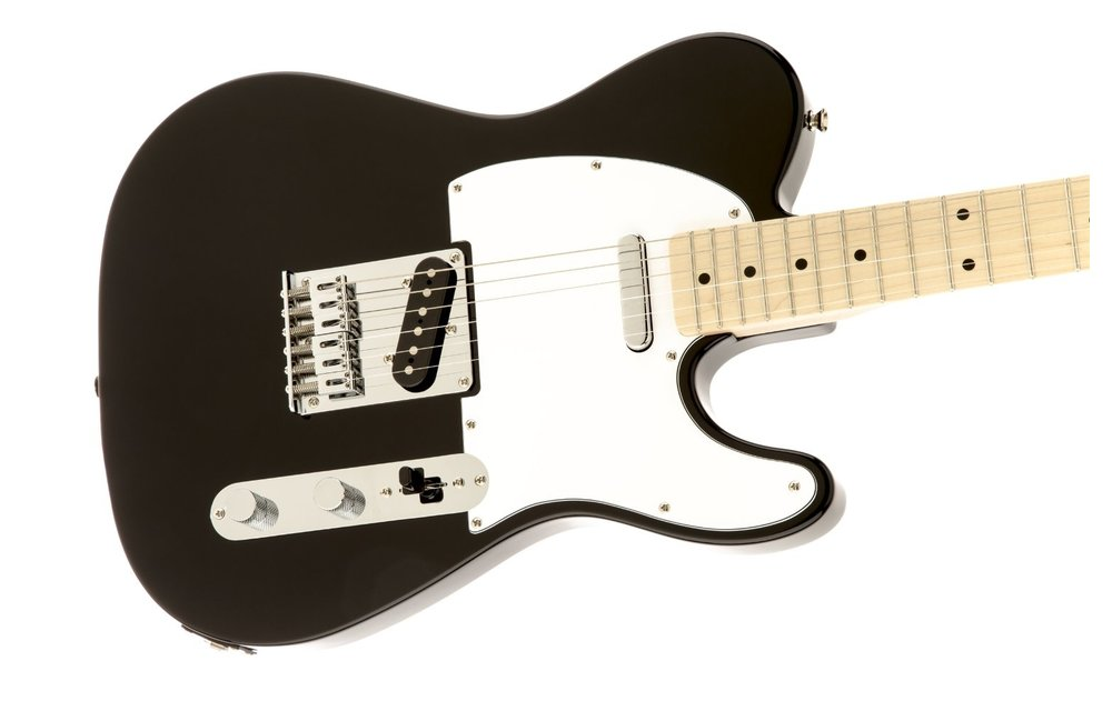 Squier Affinity Series Telecaster, Maple Fingerboard, Black