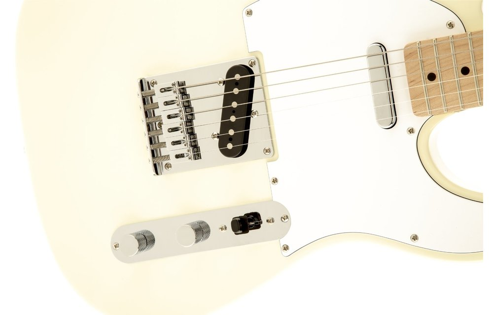 Squier Affinity Series Telecaster, Maple Fingerboard, Arctic White