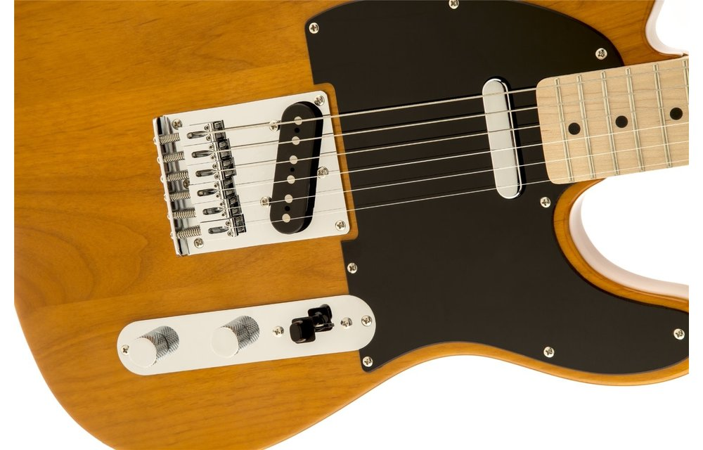 Squier Affinity Series Telecaster, Maple Fingerboard, Butterscotch Blonde